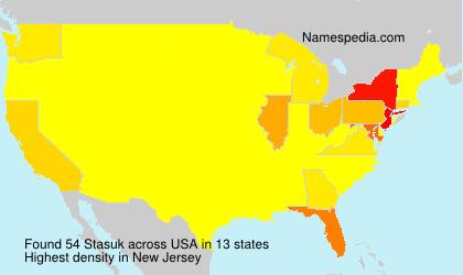 Surname Stasuk in USA