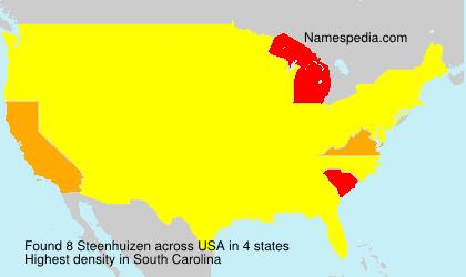 Surname Steenhuizen in USA