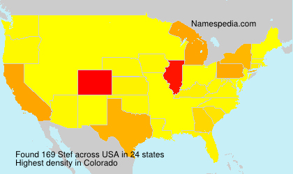 Surname Stef in USA