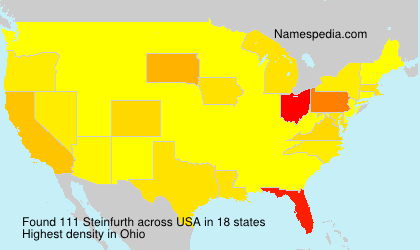Surname Steinfurth in USA