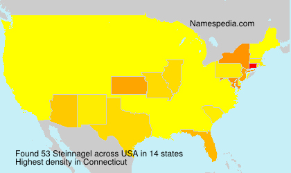 Surname Steinnagel in USA