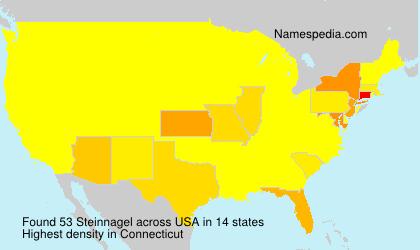 Familiennamen Steinnagel - USA