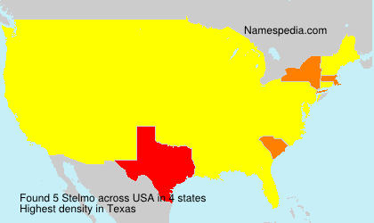 Surname Stelmo in USA
