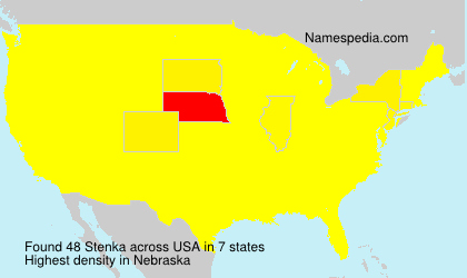 Surname Stenka in USA