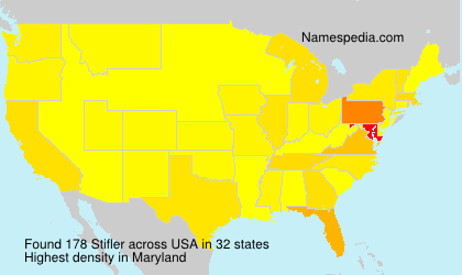 Surname Stifler in USA