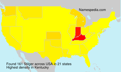 Surname Stilger in USA