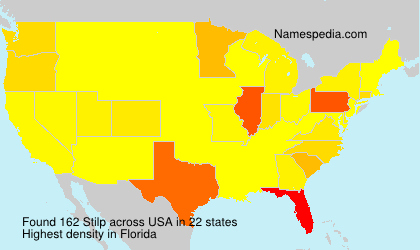 Surname Stilp in USA