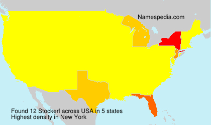 Surname Stockerl in USA