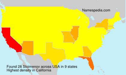 Surname Stoimenov in USA