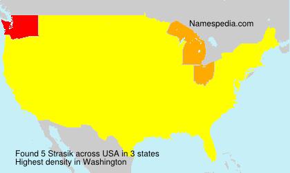 Surname Strasik in USA