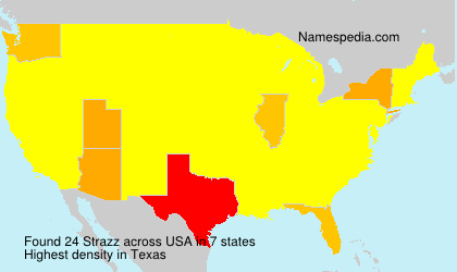 Surname Strazz in USA