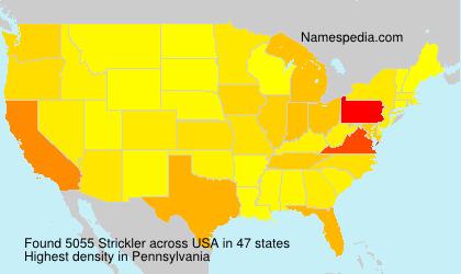 Strickler