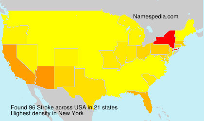 Surname Stroke in USA
