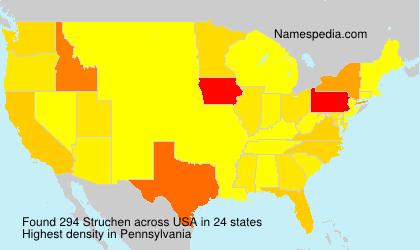 Surname Struchen in USA