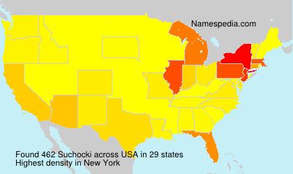 Surname Suchocki in USA