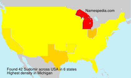 Surname Sudomir in USA