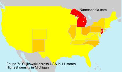 Surname Sujkowski in USA