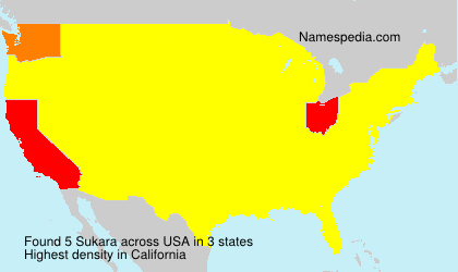 Surname Sukara in USA