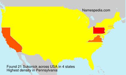 Sukonick - USA