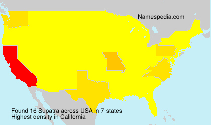 Supatra - USA