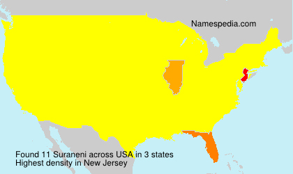 Surname Suraneni in USA