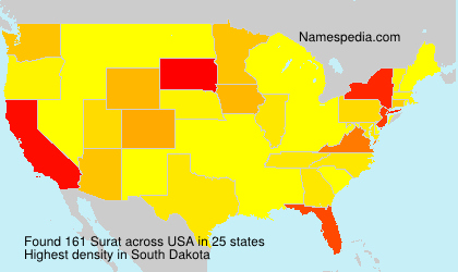 Surname Surat in USA