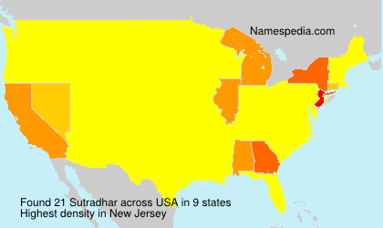 Surname Sutradhar in USA