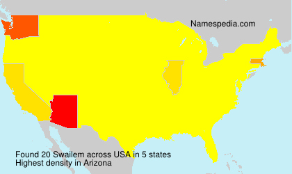 Surname Swailem in USA