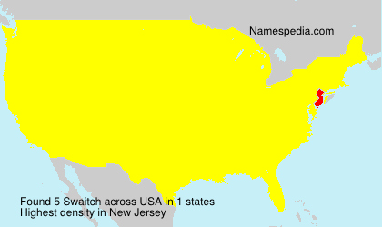 Surname Swaitch in USA