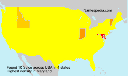 Surname Sylce in USA