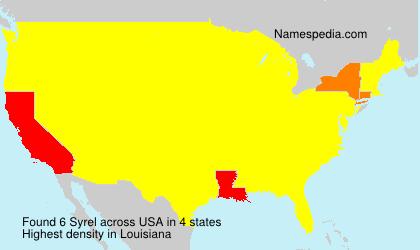 Syrel - USA