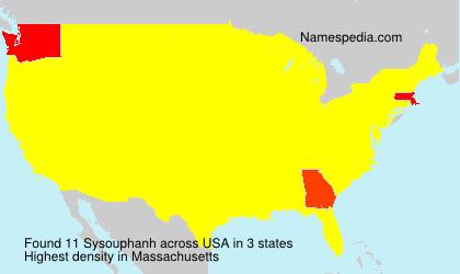 Sysouphanh - USA