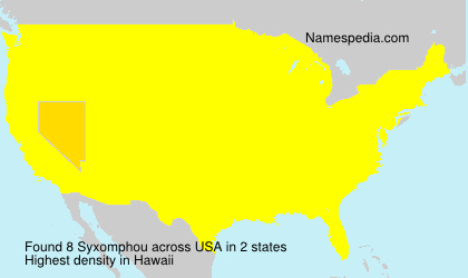 Surname Syxomphou in USA