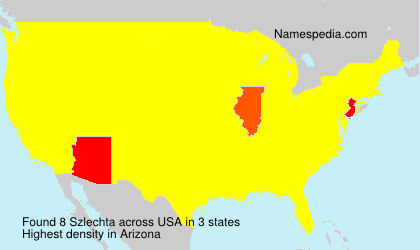 Surname Szlechta in USA