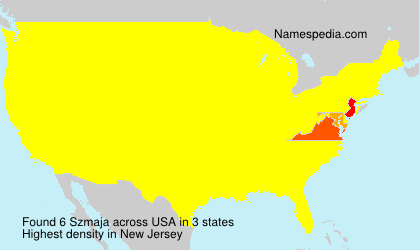 Surname Szmaja in USA