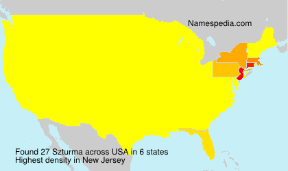 Surname Szturma in USA