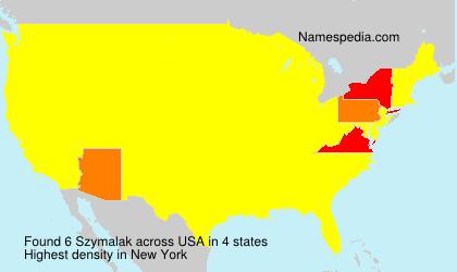 Szymalak - USA