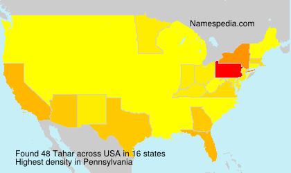 Tahar - USA