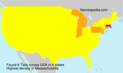 Surname Tails in USA
