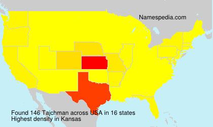Familiennamen Tajchman - USA