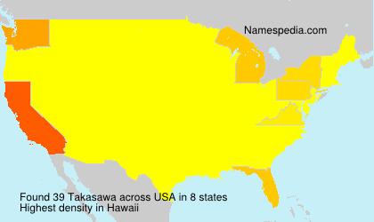 Takasawa - USA
