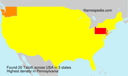 Talotti - USA