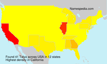 Surname Talya in USA