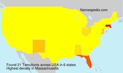 Familiennamen Tamulionis - USA