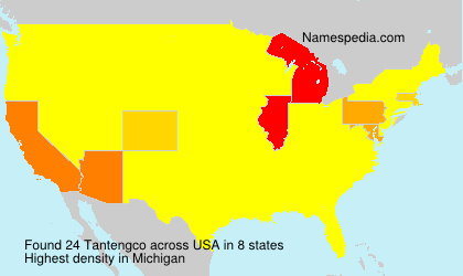 Surname Tantengco in USA