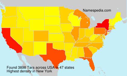 Familiennamen Tara - USA