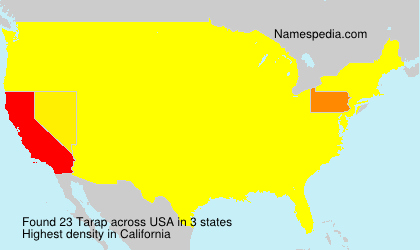 Surname Tarap in USA