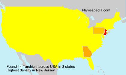Familiennamen Tarchichi - USA
