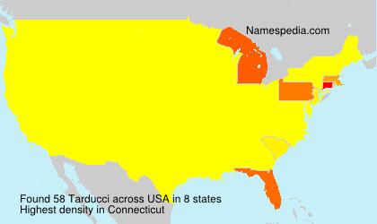 Surname Tarducci in USA
