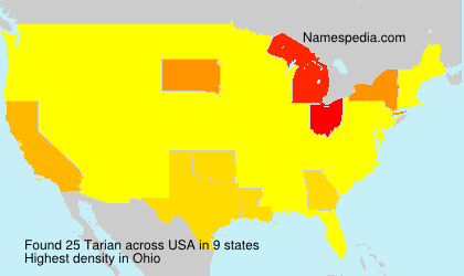 Surname Tarian in USA
